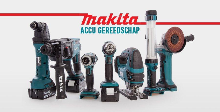 Makita accu gereedschap