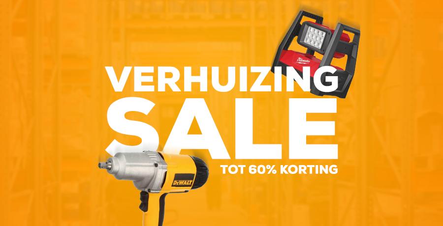 Verhuizing Sale